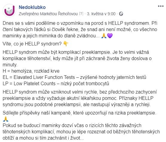 Preeklampsie_Hana Fričová_fb