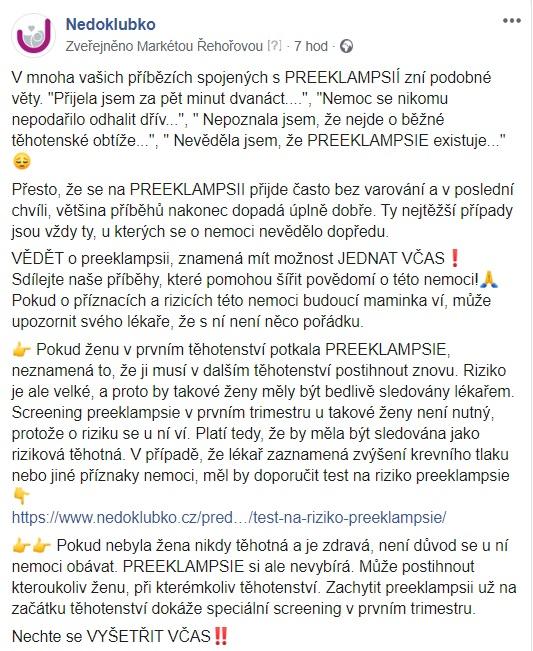 Preeklampsie_Michaela Chodorová_fb