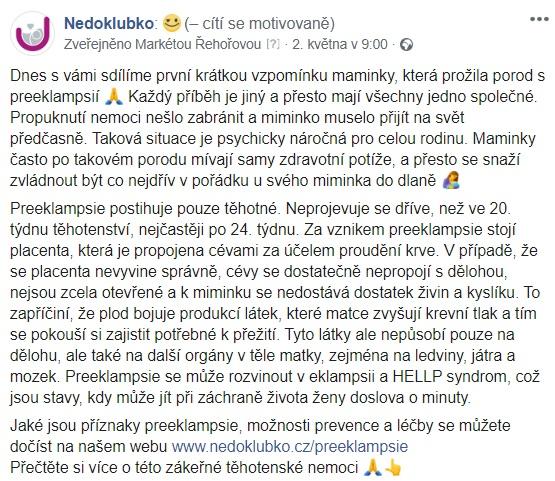 preeklampsie_Markéta Kotlářová_fb