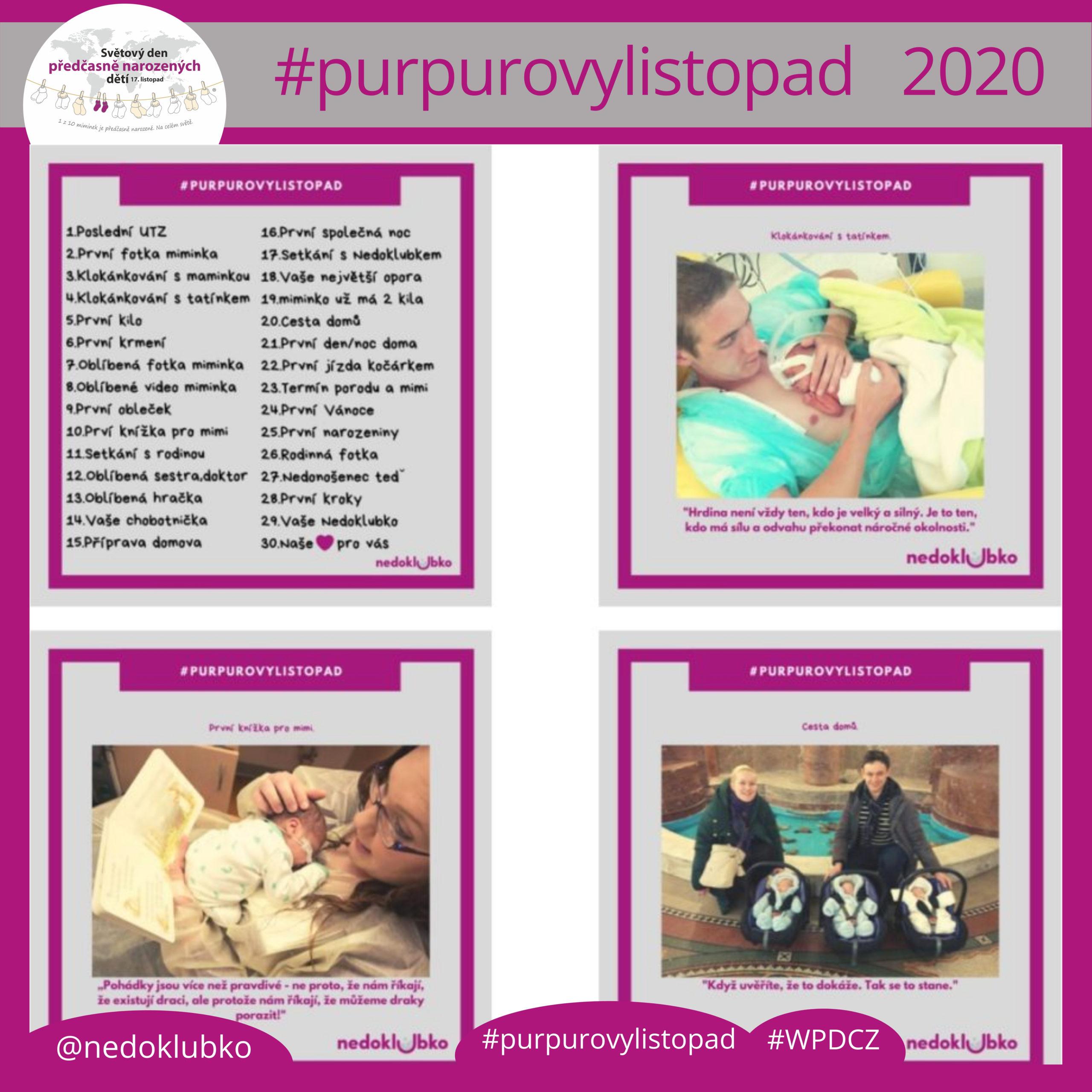 #purpurovylistopad