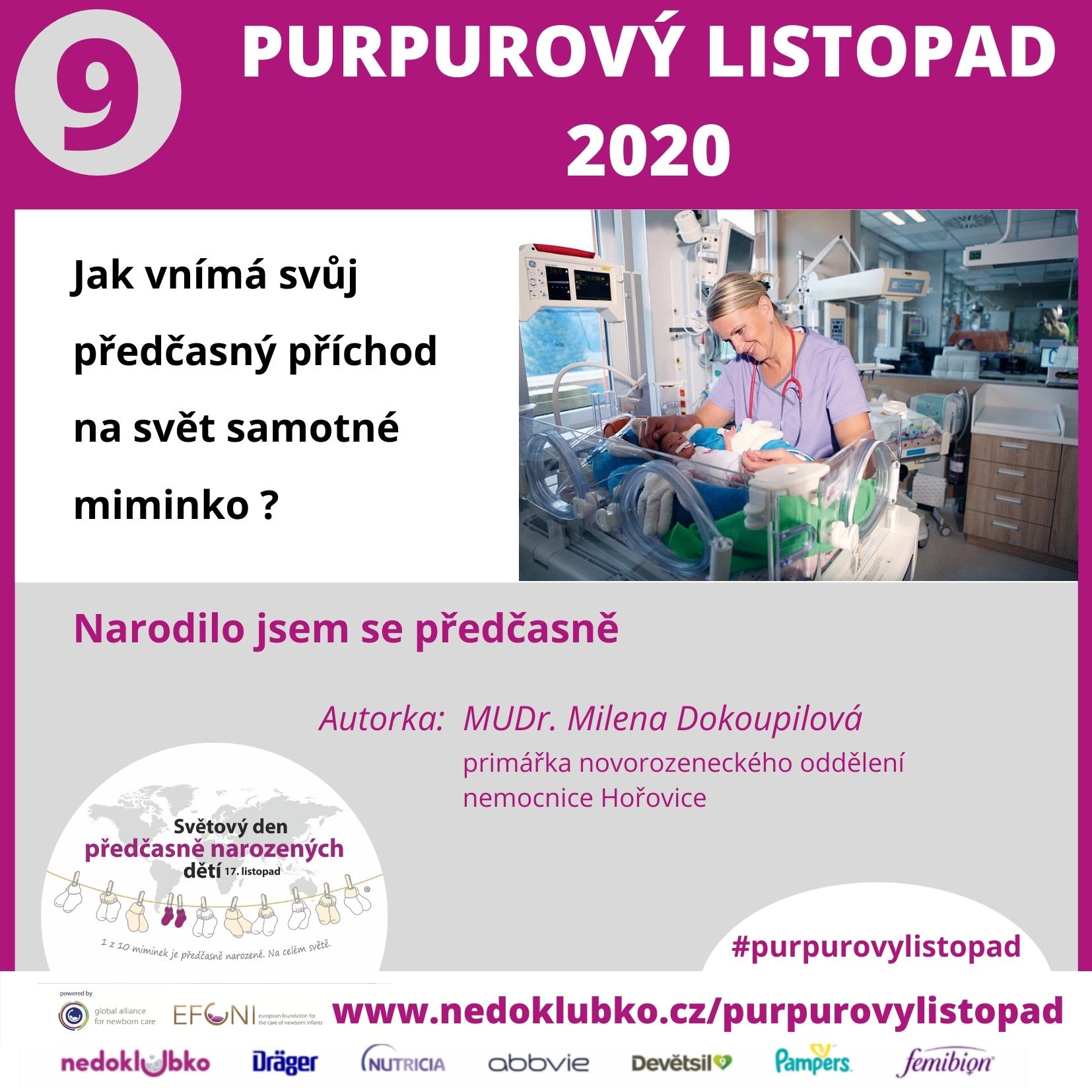 Purpurový listopad 9 Dokoupilová