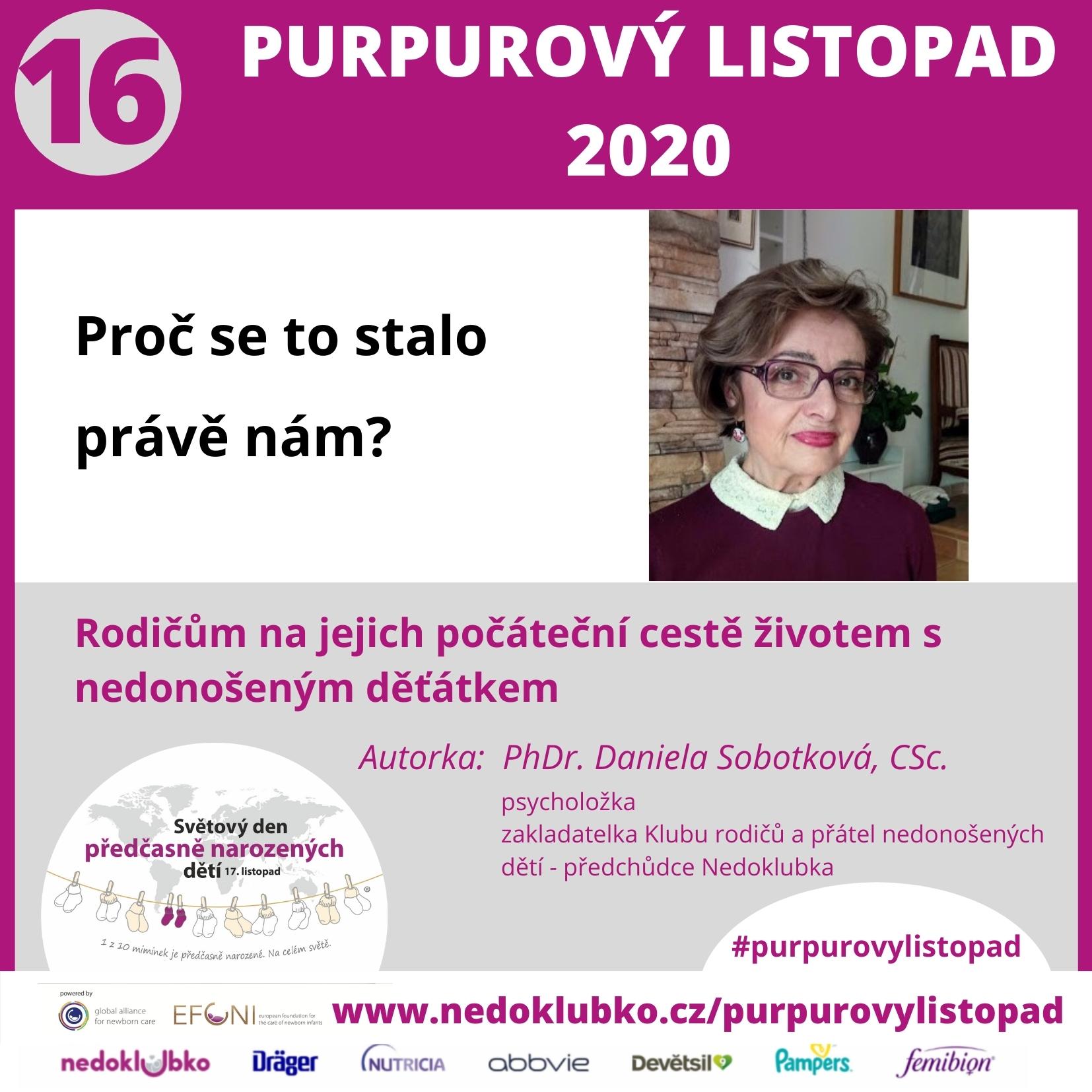 Purpurový listopad Sobotková