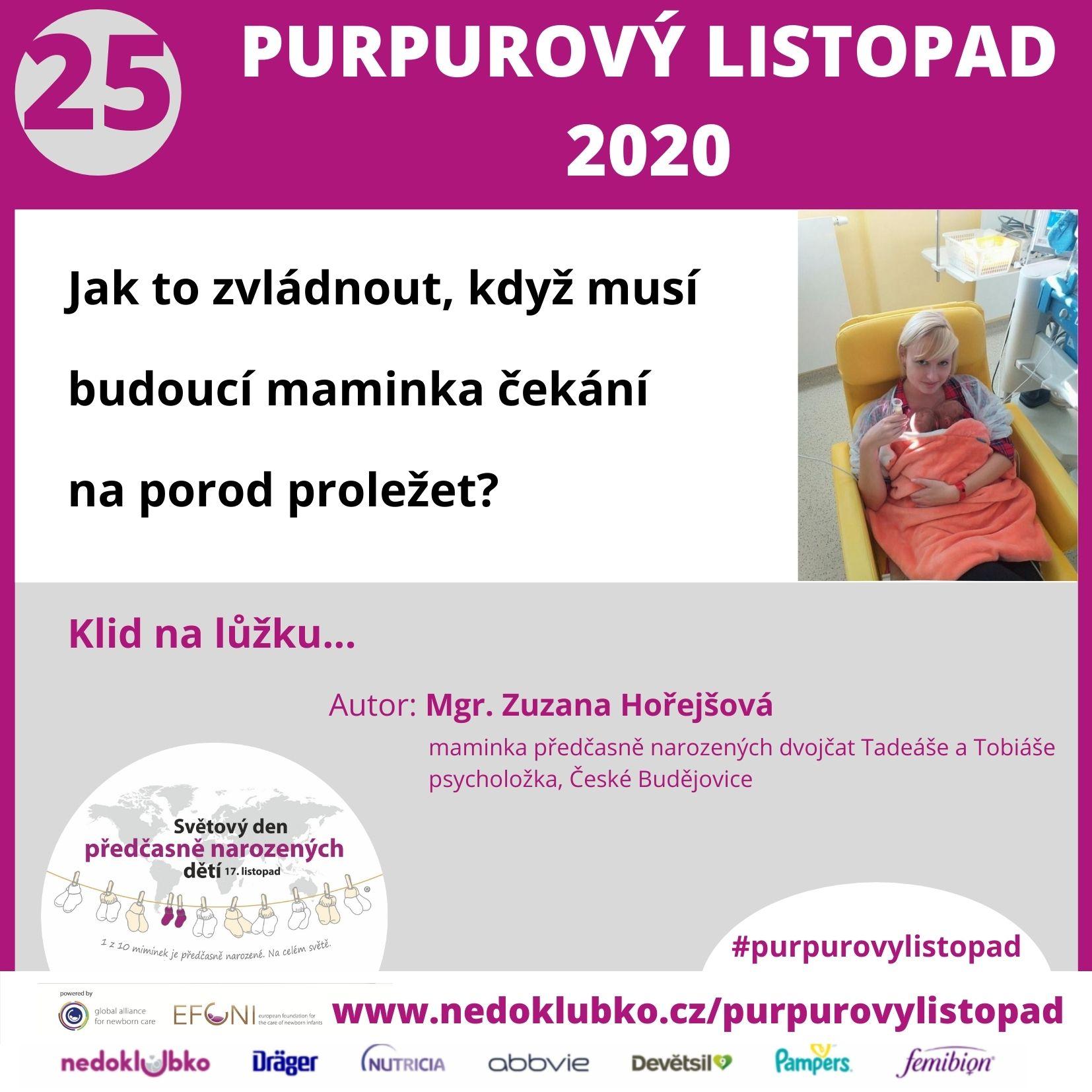Purpurový listopad25 - Horejsova