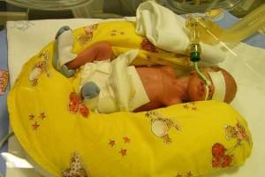Danielka po narození