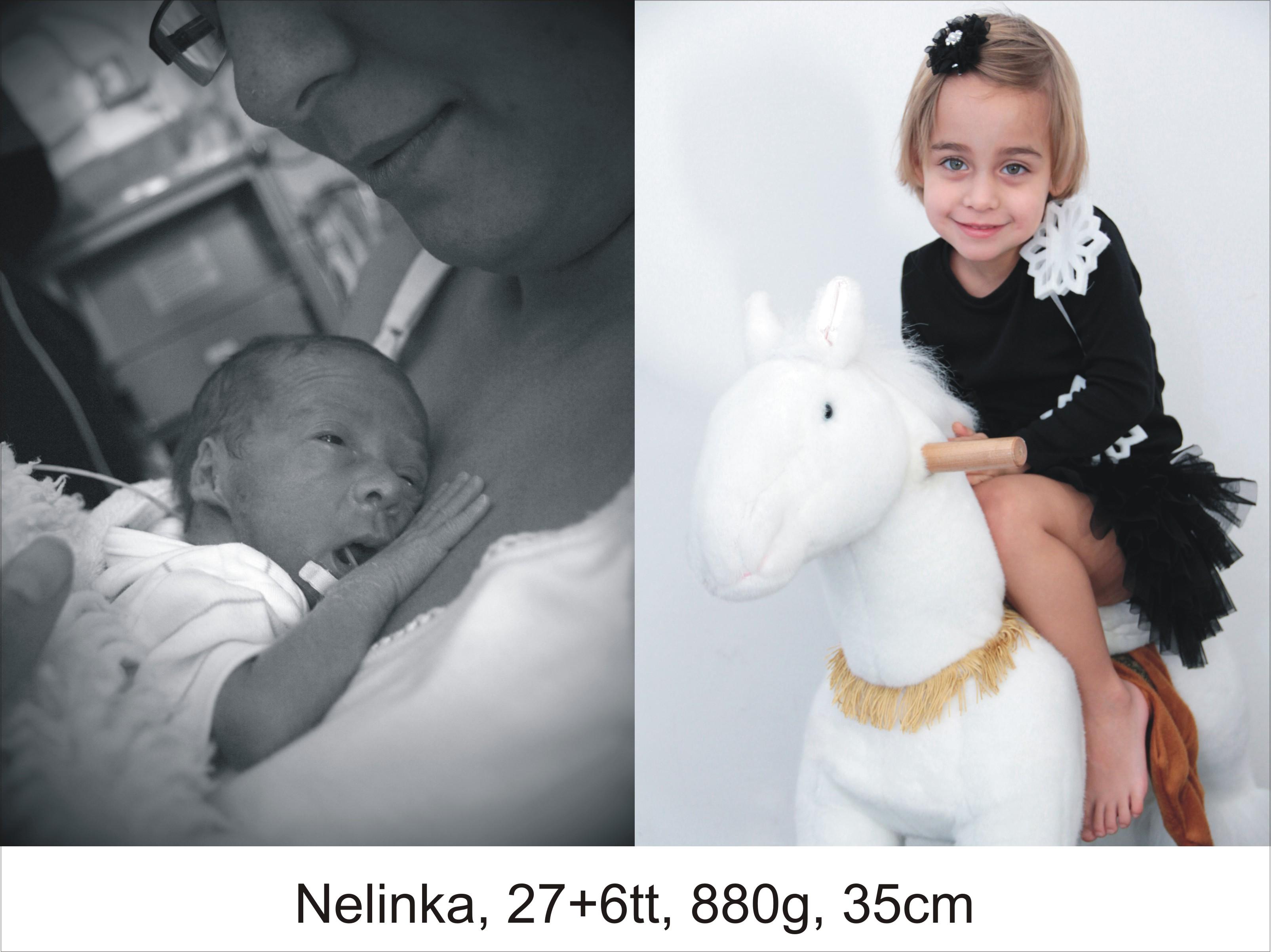 Nelinka, 27+6tt, 880g, 35cm