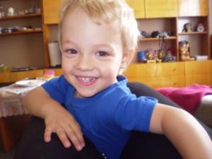 Mareček ve třech letech