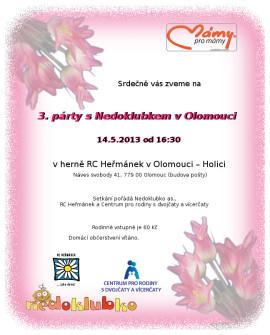 Setkání Nedoklubka 2013 RC Heřmánek Olomouc